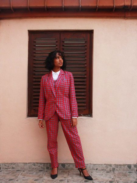 The Check Handloom Suit_1