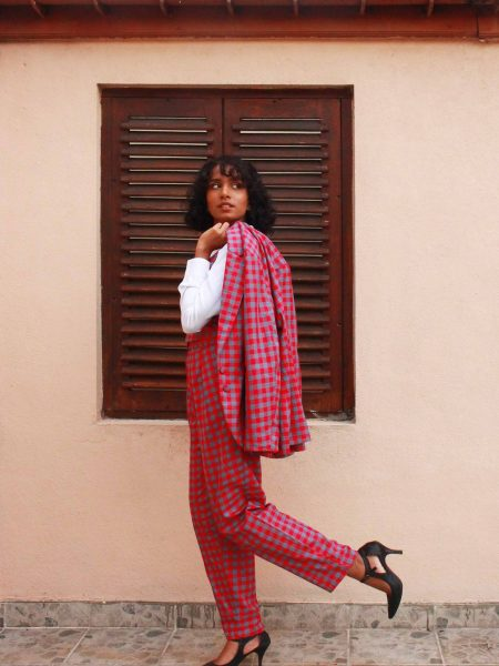 The Check Handloom Suit_2
