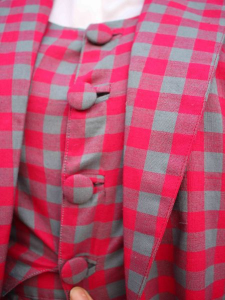 The Check Handloom Suit_4