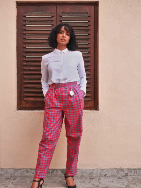 The Check Handloom Suit_5